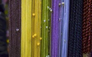 Что такое кисея, как выглядят и как используют нитяные шторы — полное описание