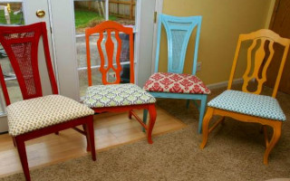 Примеры обивки стульев и секреты перетяжки — какая ткань подойдет лучше