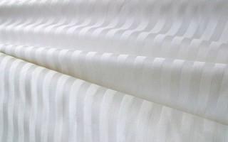 Что такое страйп-сатин и из чего состоит ткань: понятное описание и применение