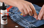 Как быстро убрать свежий и засохший клей с одежды дома — надежные лайфхаки