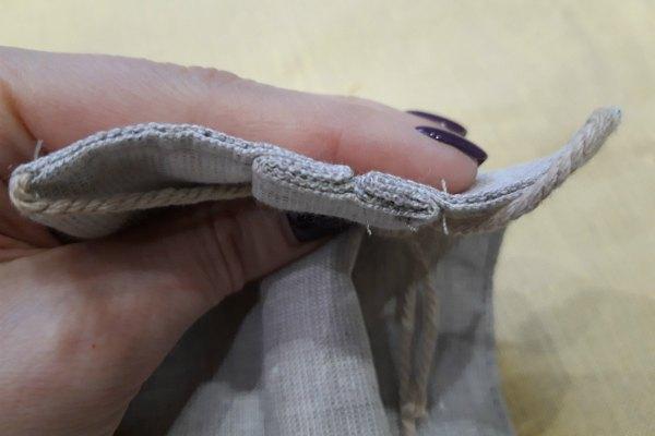 Складка ткани
