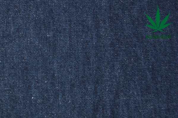 Конопляный джинсовый материал