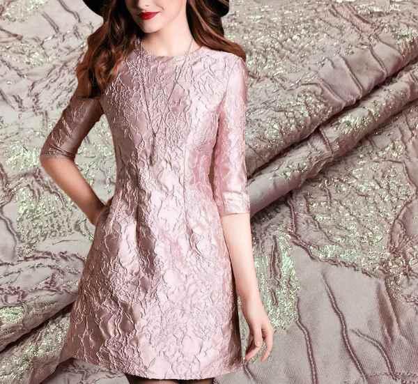 Жаккард платье