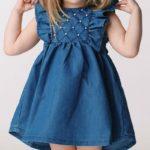 Джерси детское платье