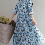 Ситцевое платье