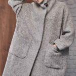 Меланж пальто