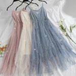 Фатин платье