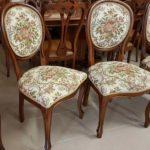 Обивка стульев гобеленом