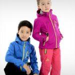 Софтшелл детские куртки
