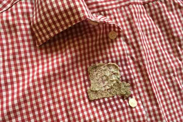 Горчица для очистки одежды