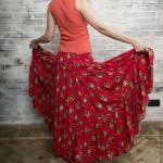 Штапель юбка