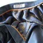юбка с подкладом